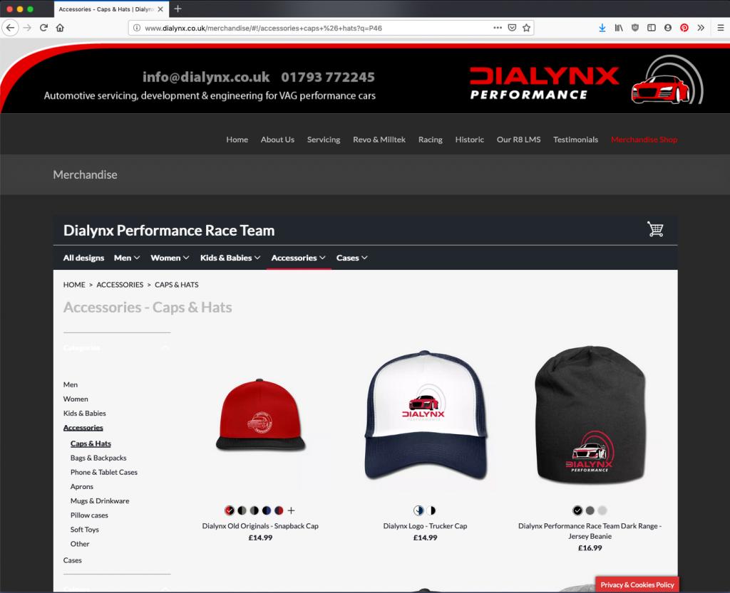Dialynx website designed by Blackberry Design